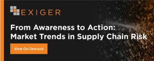 From Awareness to Action: Market Trends in Supply Chain Risk